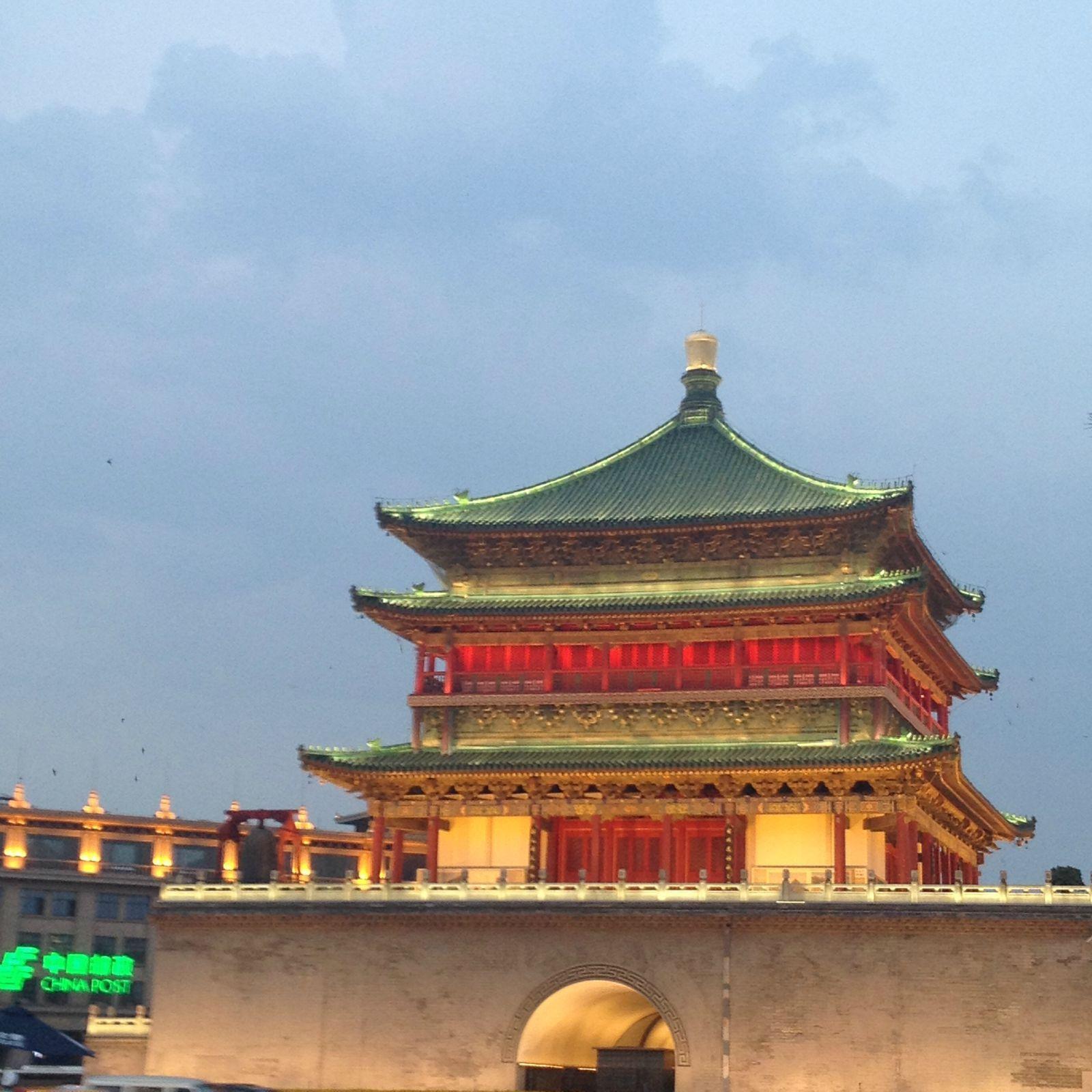 在偷得浮生半日闲的古代时间里,我的主要任务就是:吃! 西安钟楼