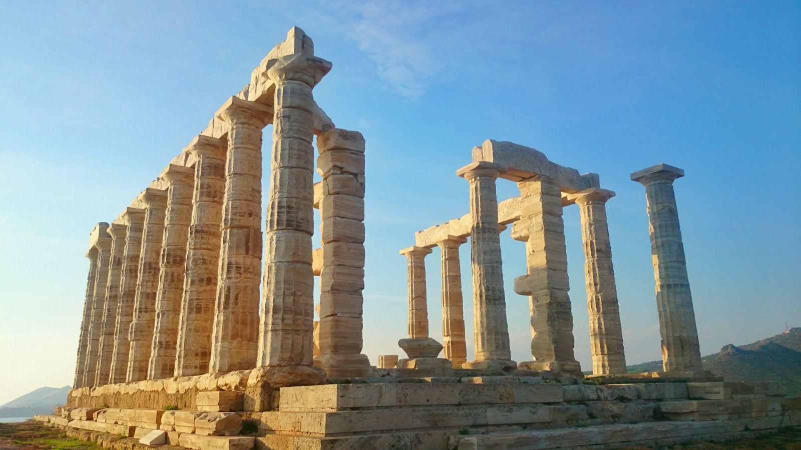 呵呵呵. 希腊波塞冬神庙