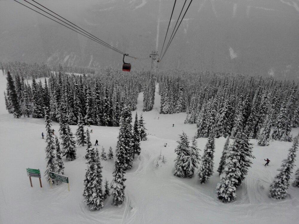 黑梳山纜車  Blackcomb Glacier peak-to-peak Gondola   -4