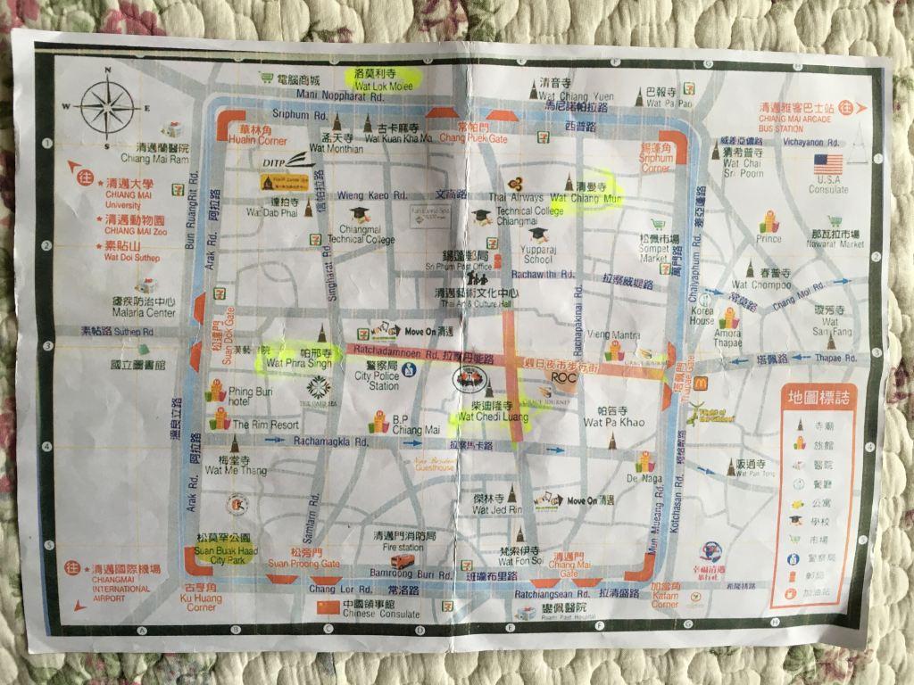 两张手绘地图是老板的宾馆