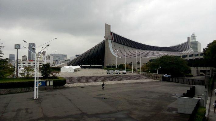 1964年东京奥运会代代木国立综合体育馆