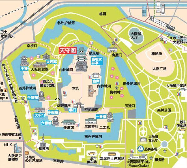 心斋桥手绘地图