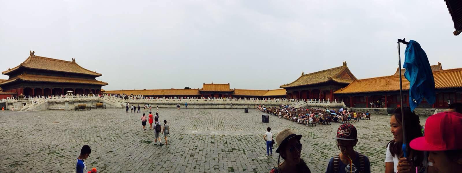 我北京天安门