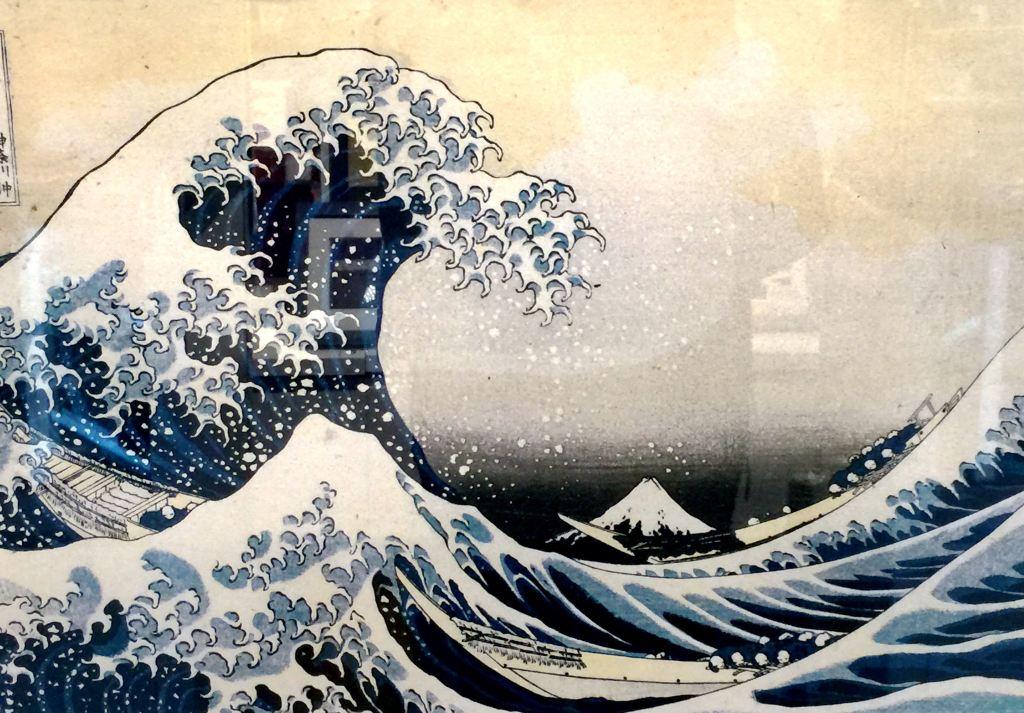最著名的富士山和神奈川海浪
