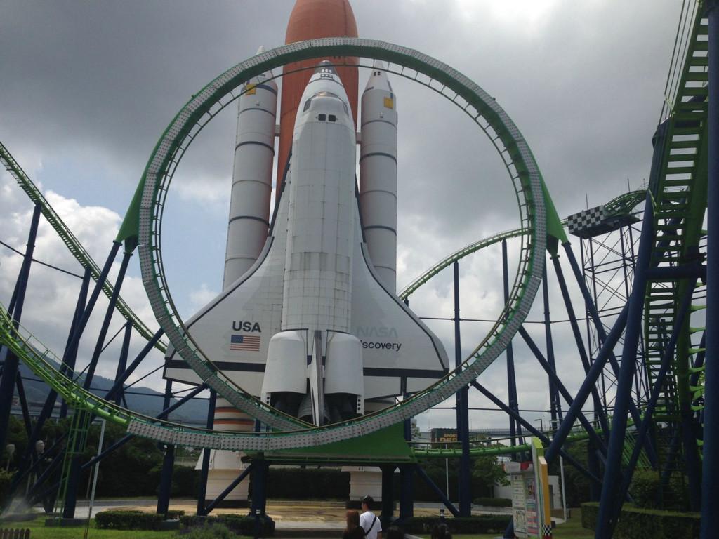 福冈特有的太空游乐园
