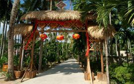 三亚崖州古越文化旅游区天气预报,历史气温,旅