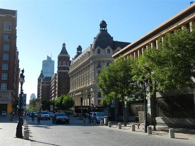 欧式建筑,窄窄的街道