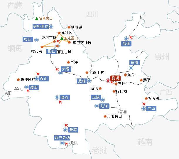 昆明地图(一)