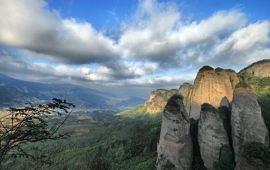 赣州小武当山天气预报一周,明天小武当山天气预报 旅游气象高清图片