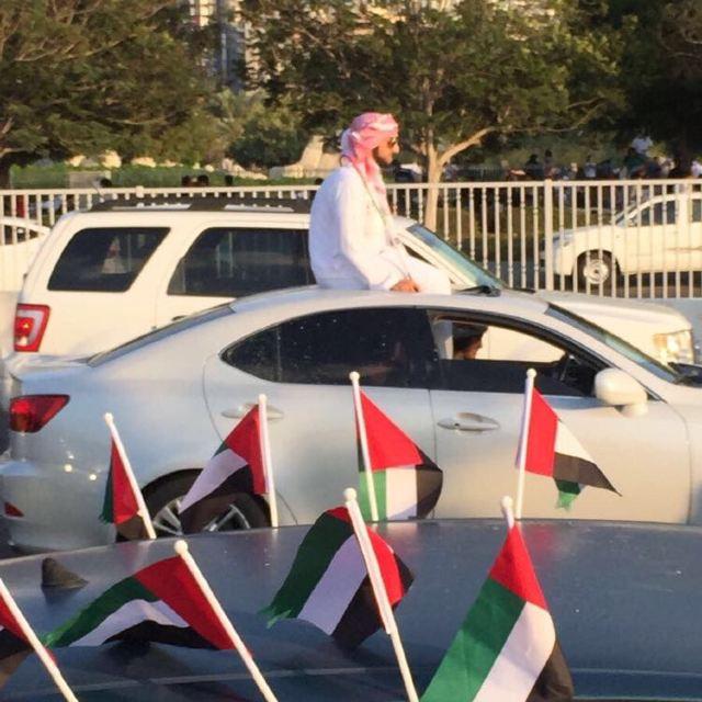 迪拜圆形国旗图片
