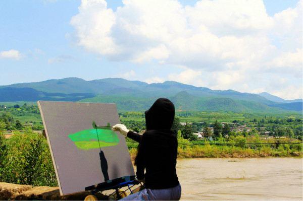 油画,水彩画,水粉画,钢笔画,每一画在我这个外行人看来都是精彩十分