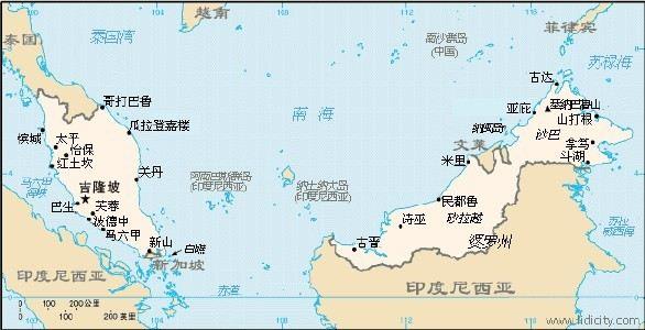 西马指的是吉隆坡跟兰卡威,槟城,热浪岛那边,东马指的是沙巴州这边(而