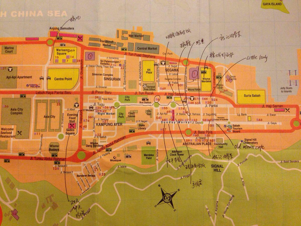 隆重推荐我的手绘美食地图!登登登