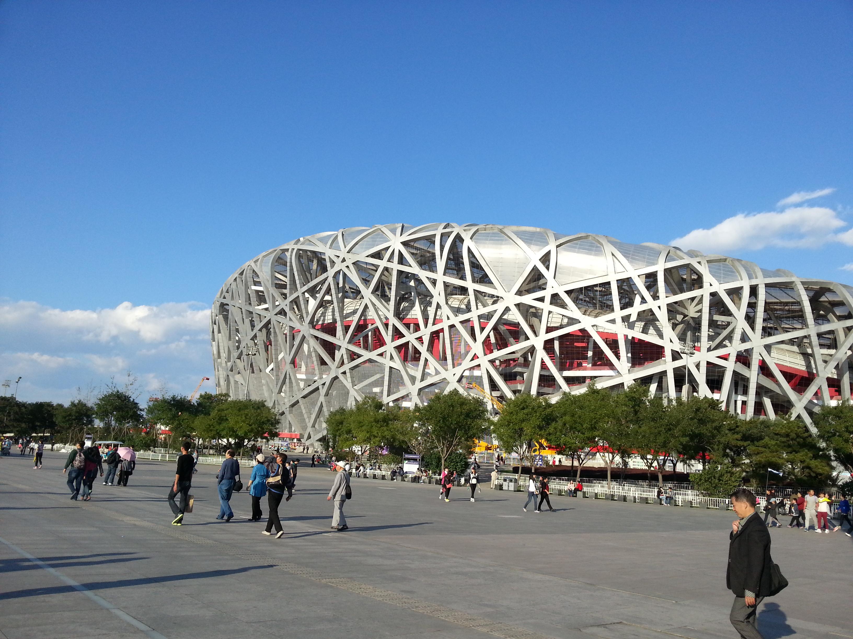 北京景点简笔画