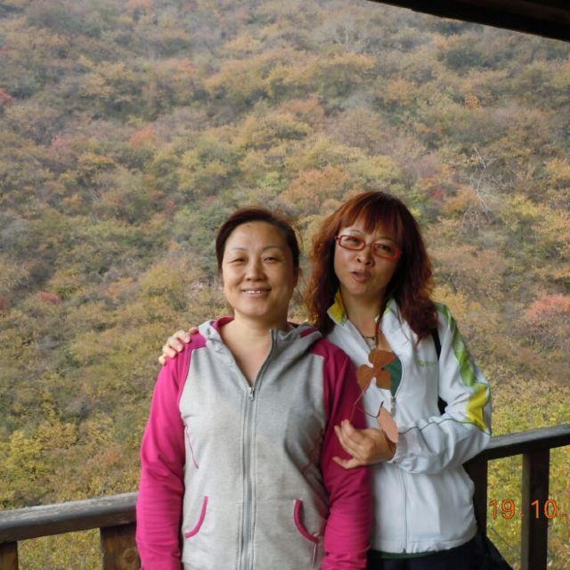 第1天2014-10-19 翠枫山自然风景区 停车坐爱枫林晚,霜叶红于二月花!
