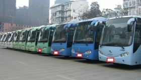 西双版纳旅游景区专线车