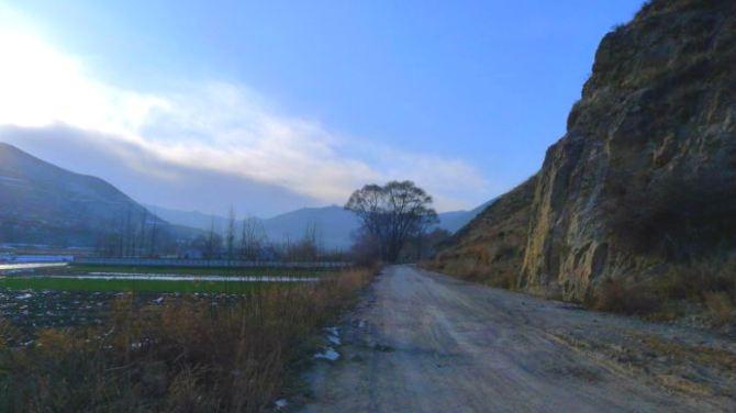 【加游站】冬天的傲视.冶力关.无双赤壁攻略-幽谷穿越徒步图片
