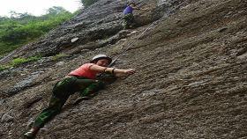 水镜庄攀岩