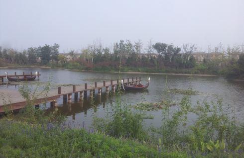 烟台牟平养马岛龙湖地产体验区