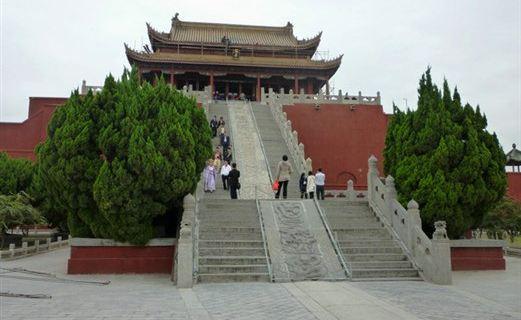 龙亭公园广场_开封_百度地图