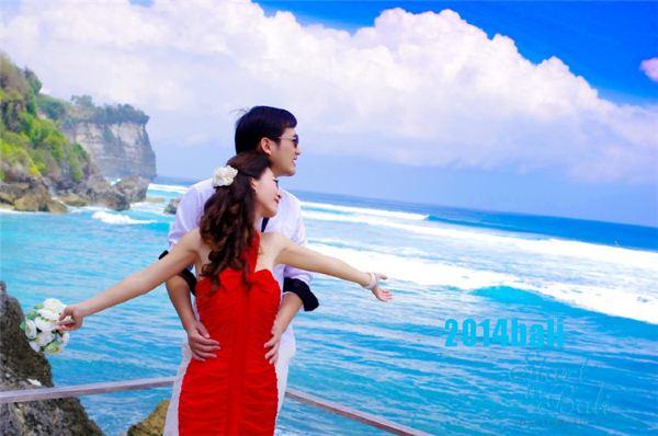爱恋已久—巴厘岛唯美草坪婚礼—爱的诠释与见证