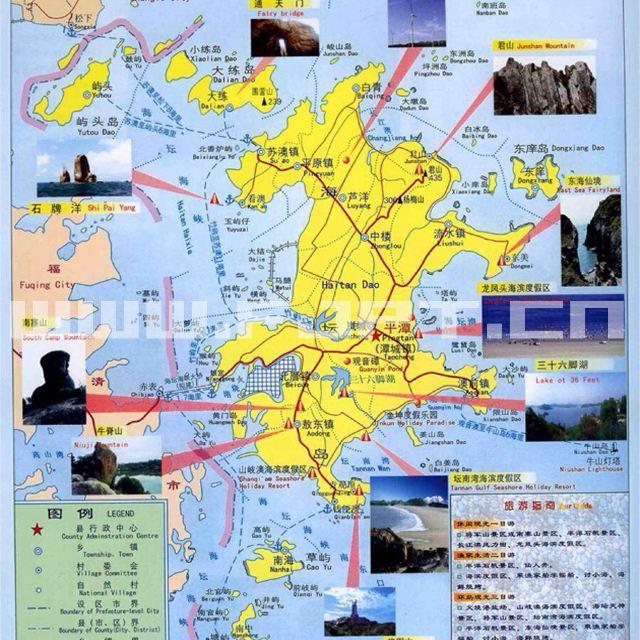 平潭岛地图