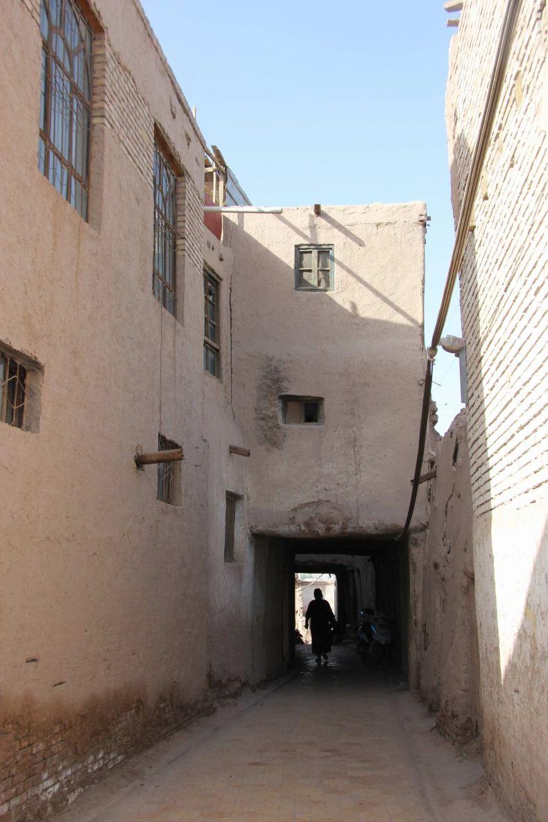 走进喀什噶尔古城