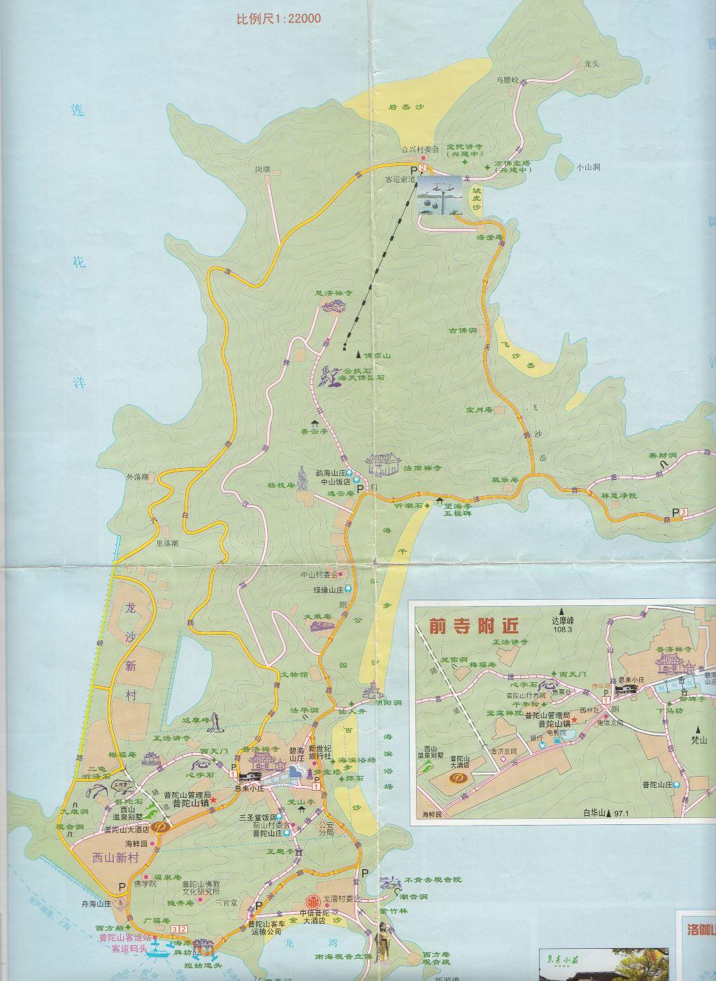 青岛崂山地图全图大图 青岛崂山地图全图 青岛地图全图大图