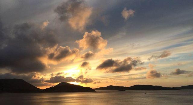 观东海赏风车品烧烤尝海鲜——上海-衢山岛自驾露营游记