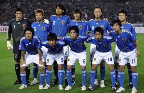 日本国家足球队                         图片