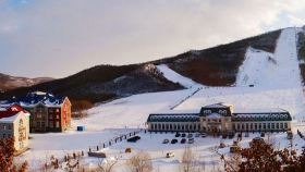 扎兰屯金龙山滑雪场