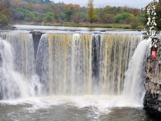 镜泊湖风景区图片