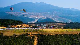 中国滑翔伞训练基地