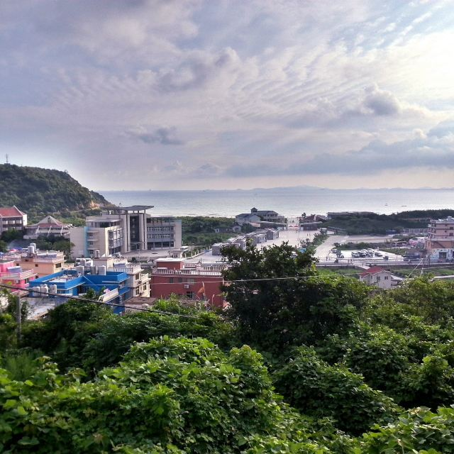 第2天2014-08-11 嵊泗览景山庄 枸杞岛 下午参加乐和渔家老板推荐的