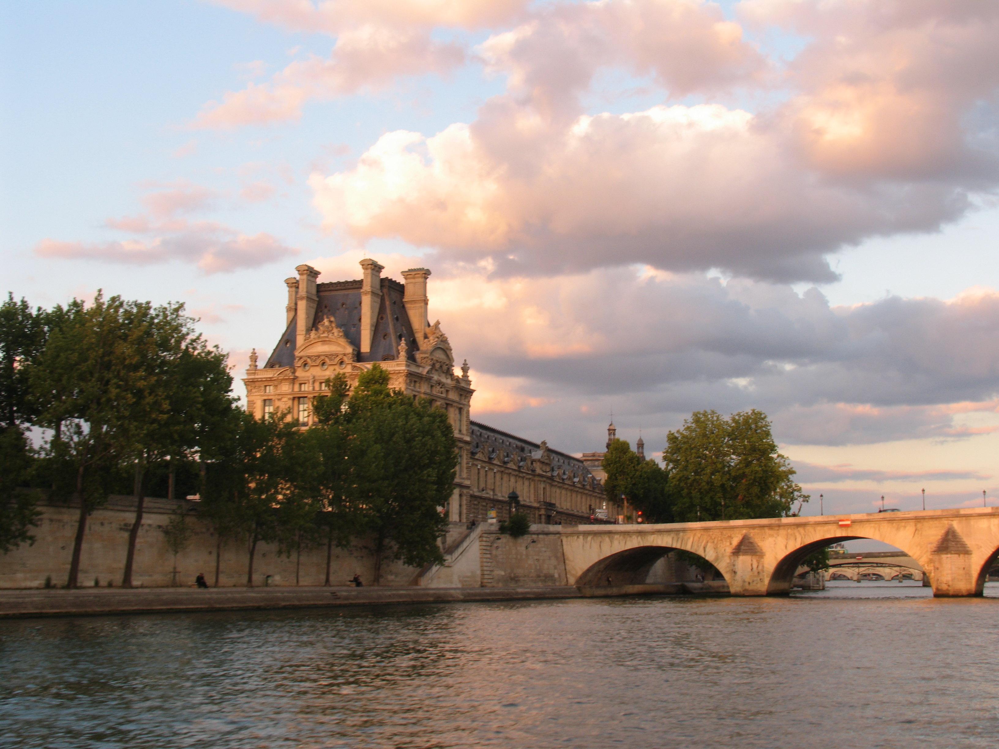 巴黎全景一日游 含塞纳河游船午餐 英文团 guided visit of 高清图片