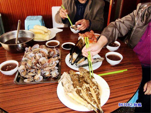 长岛渔家在路上--小庞美食,a渔家小筑》-长岛游华中农业大学十大美食图片