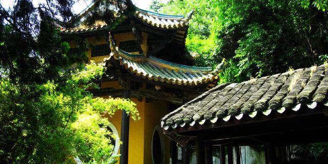 完整地展现了中国古代建筑图片