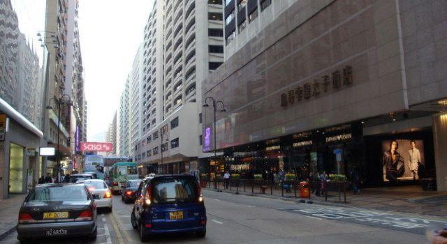 香港中环街道手绘