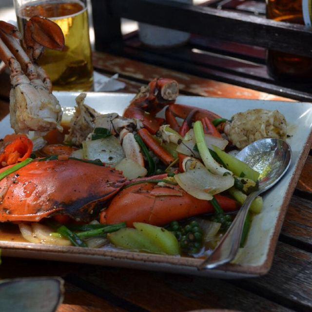 普吉岛的海鲜