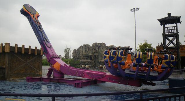 周末常州淹城 恐龙园2日游