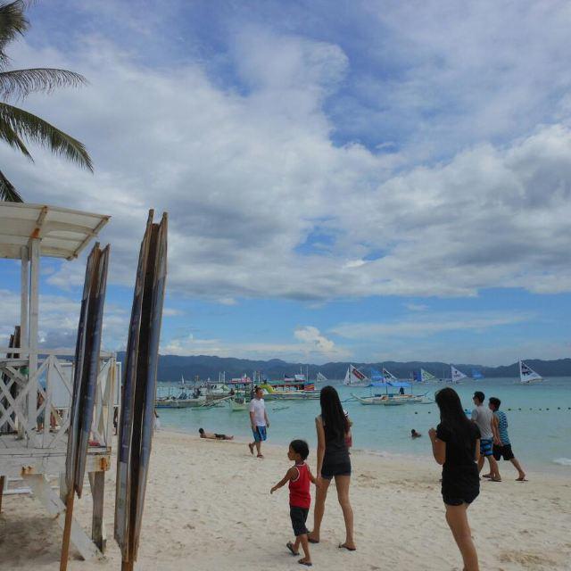 """""""伊里岸海滩"""",又名【星期五海滩】之旅,此处乃是长滩岛沙质最细,最柔"""