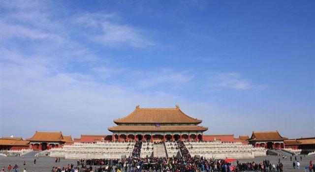 2010年北京自助游3--天安门广场,故宫,北海,荷花市场
