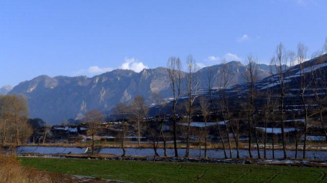 【加游站】冬天的穿越.冶力关.徒步赤壁幽谷-龙图攻略手游霸业图片
