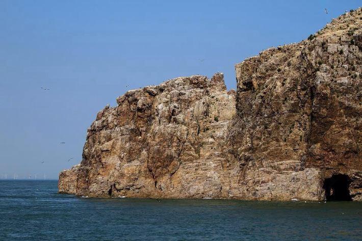 炎炎夏日还是去海边最棒了山东威海西霞口景区的海驴岛
