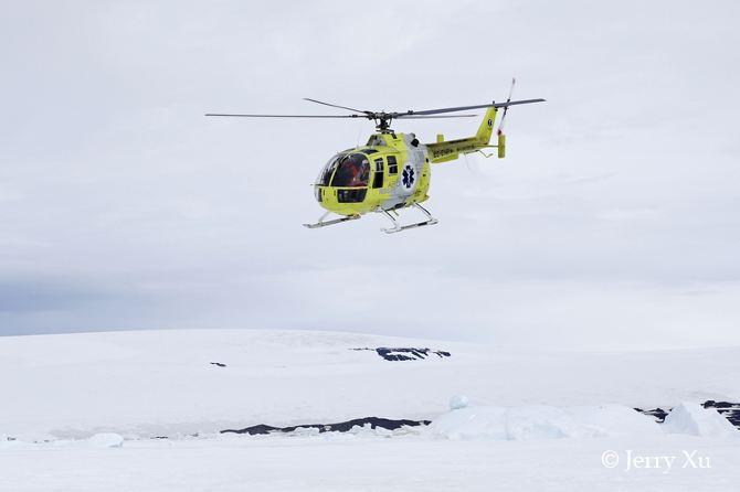 【南极】俯瞰南极壮丽美景 先后五次直升飞机乘坐体验