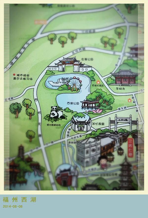〔福州〕手绘地图上的旅行