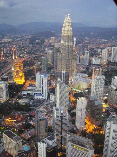 马来西亚吉隆坡游记(二)城市印象