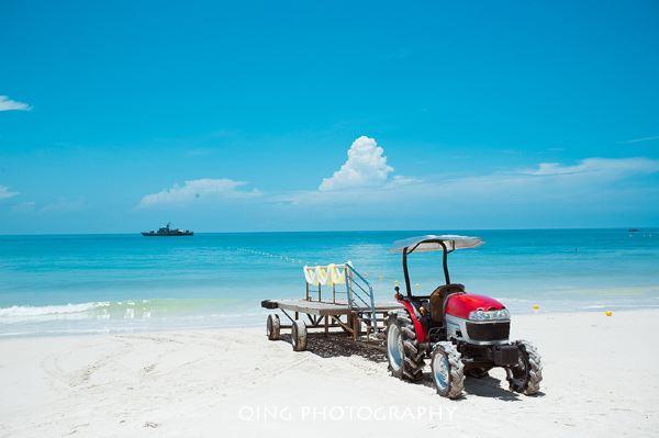 大部分沙美岛酒店都是需要去渡口坐公用的大船,而这家是私家快艇!