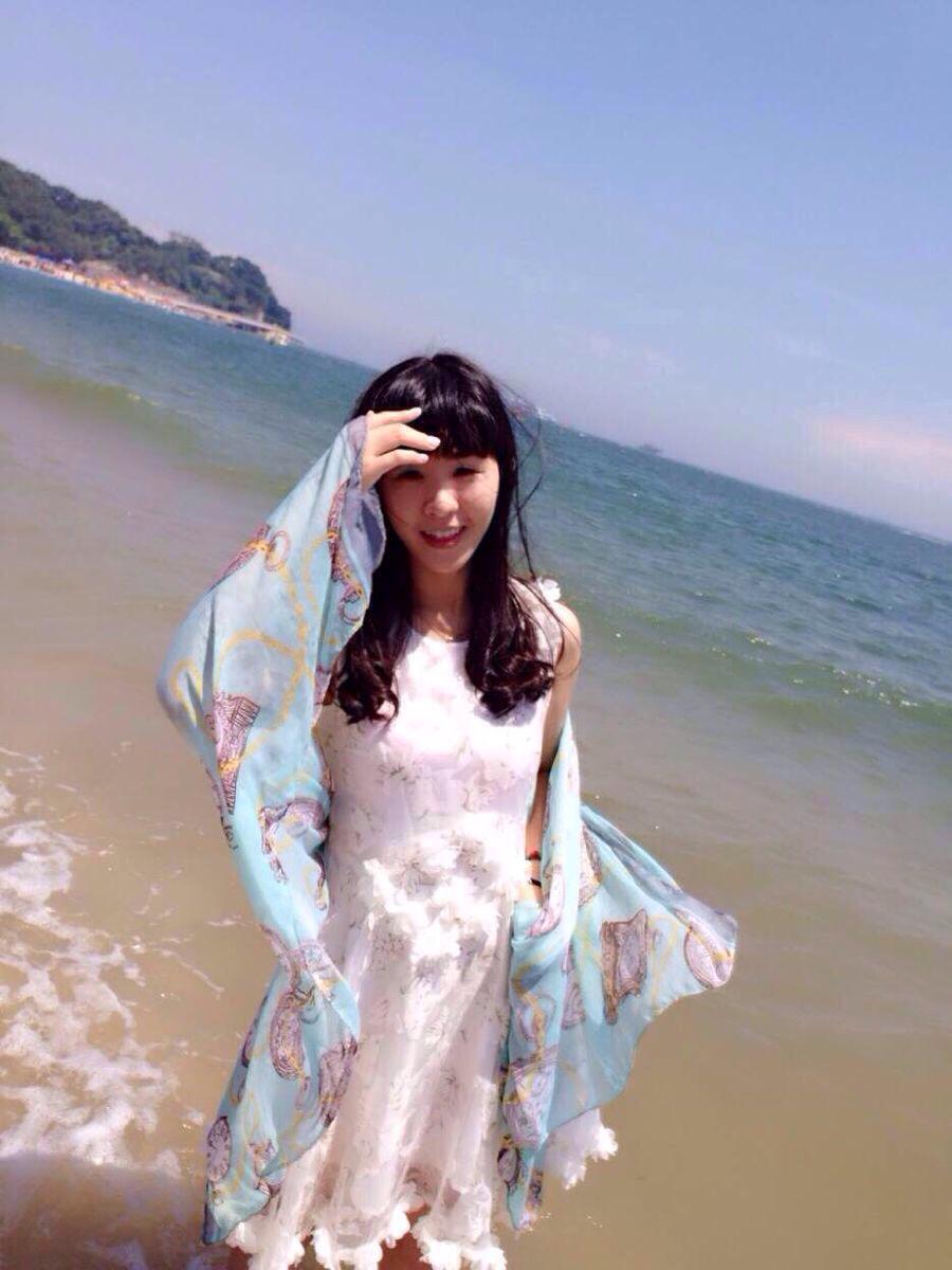 闺蜜婚纱头像一人一张大海
