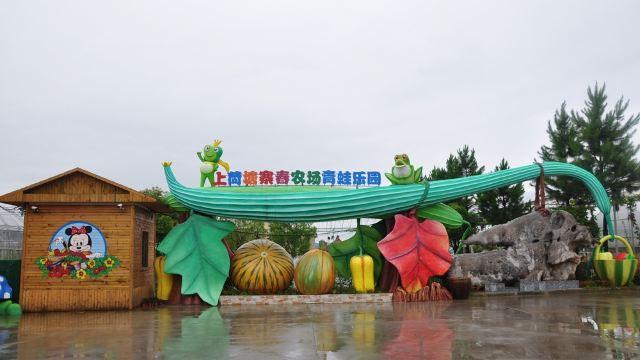 上荷塘寨春农场青蛙乐园